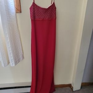 Red Stretch Gown